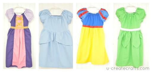 Disney Princess Peasant Dress Pattern