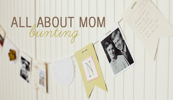 mothers day banner tutorial