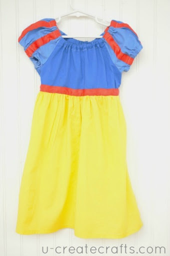 Snow White Peasant Dress