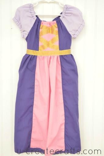 Tangled Peasant Dress