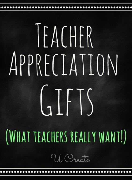 Teacher Appreciation Gifts that teachers REALLY want! Teachers share their favorite gifts!