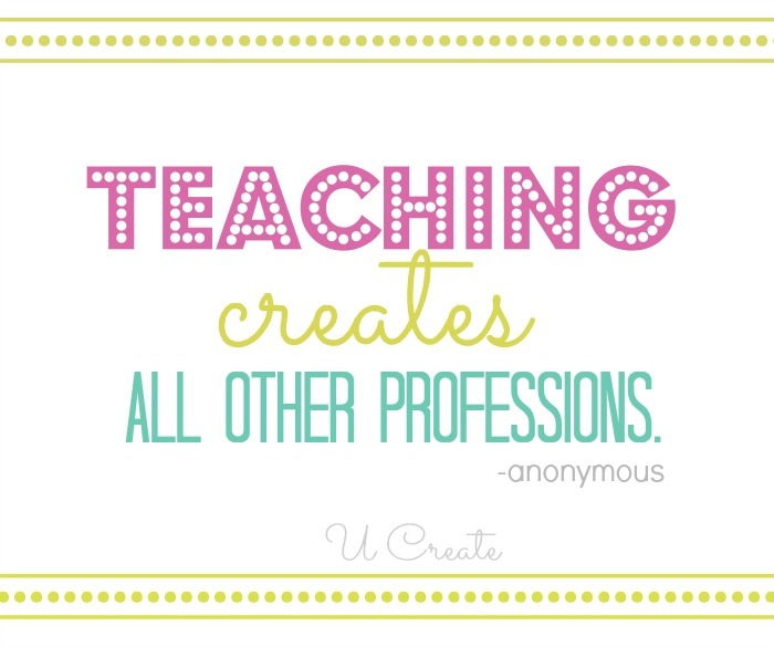 Teachers Create Quote