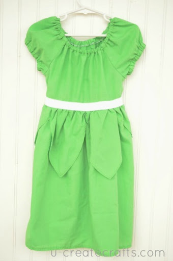 Tinkerbell Peasant Dress