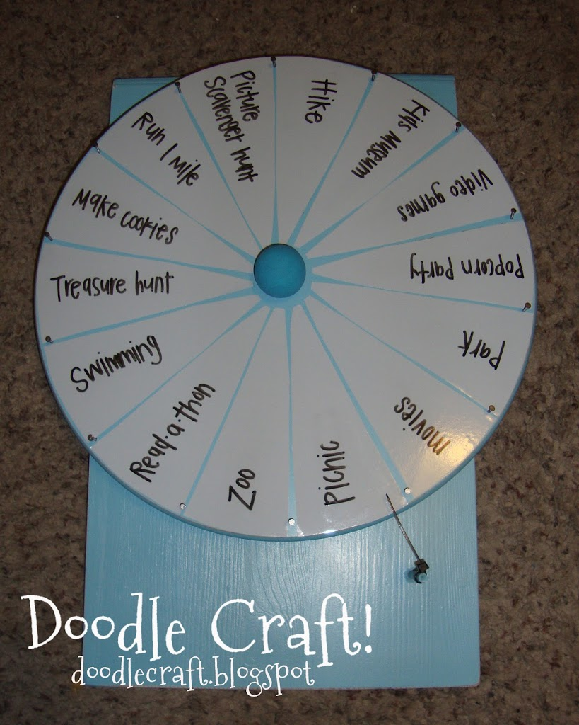 Diy spinner prize wheel u create but it finishes it off nicely solutioingenieria Images