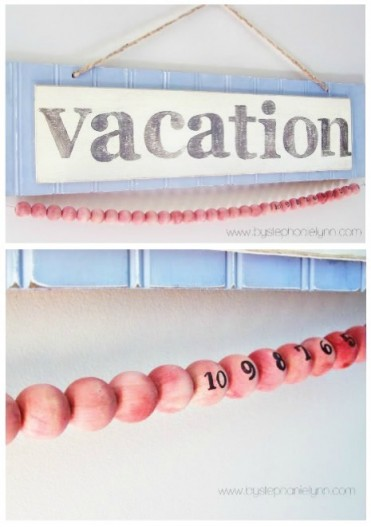 Vacation Countdown Tutorial