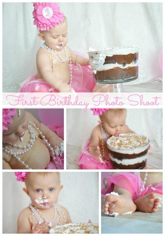 First Birthday Photo Shoot Tutorial
