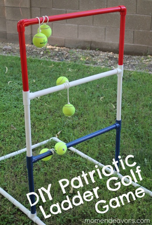 PVC Ladder Golf Game Tutorial by Mom Endeavors