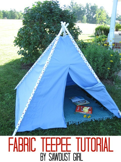 PVC Pipe Teepee Tutorial by Sawdust Girl  sc 1 st  U Create & PVC Pipe Tutorials - U Create