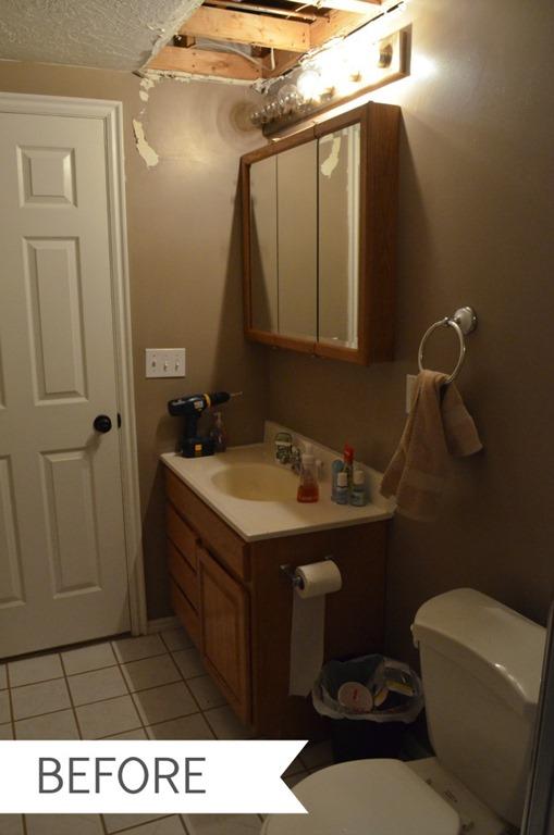 The Creepy Bathroom Before