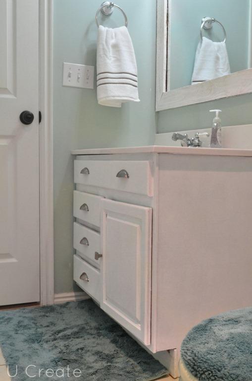 UCreate Bathroom Makeover