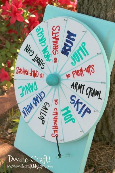 diy game wheel