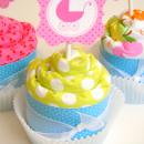 Burp Cloth Cupcake Tutorial