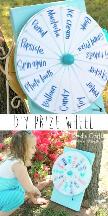 Diy Spinner Prize Wheel U Create