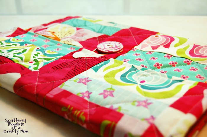 Quilted Tablet Cover Tutorial by Scattered Thoughts of a Crafty Mom