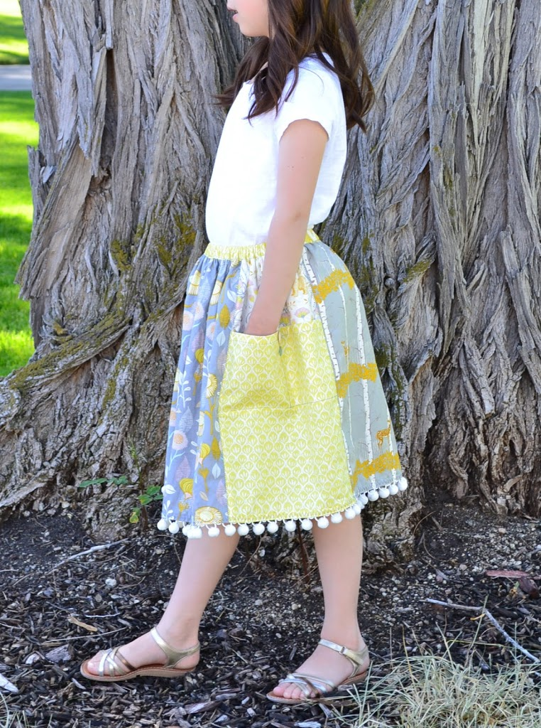 How to make an instapocket skirt by Tea Rose Home!