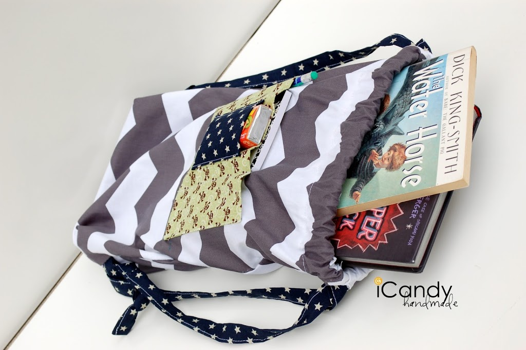 How to make a summer reading sack with iCandy Handmade