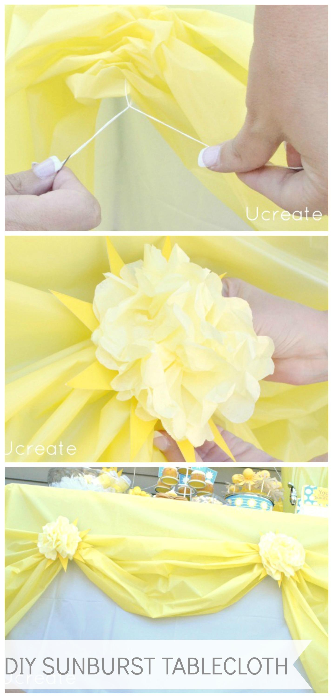 Sunburst Tablecloth Tutorial - U Create
