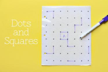 Quiet Book Series - Dry Erase Dots