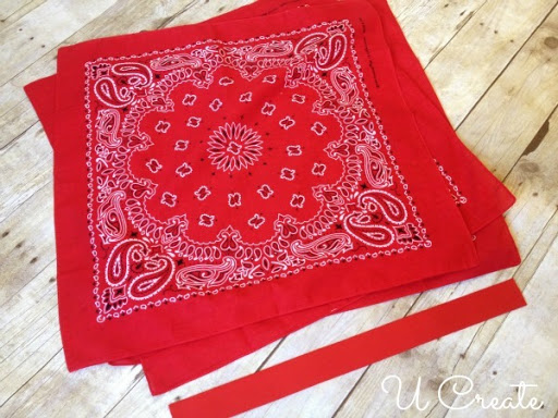 Bandanna Circle Skirt Tutorial by U Create