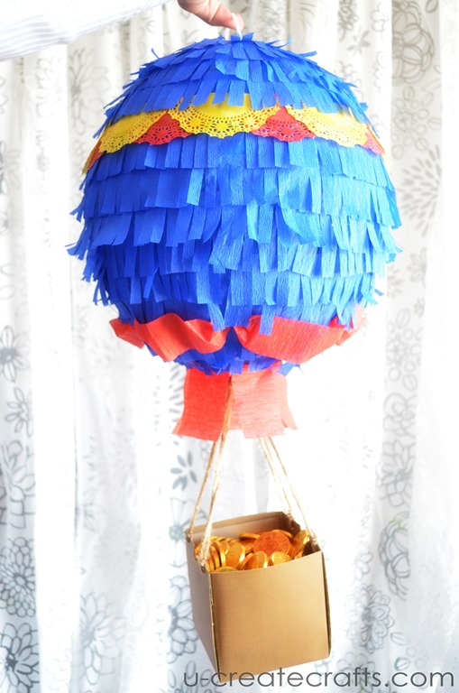 Hot Air Balloon Pinata Tutorial by UCreate