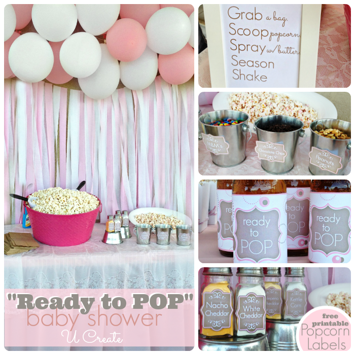 Baby Shower Ready To Pop U Create