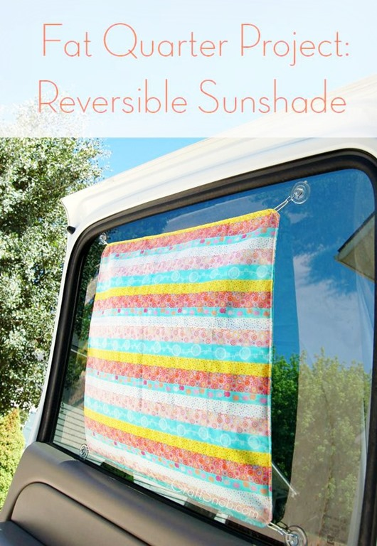 Reversible Sunshade Tutorial by Craft Snob