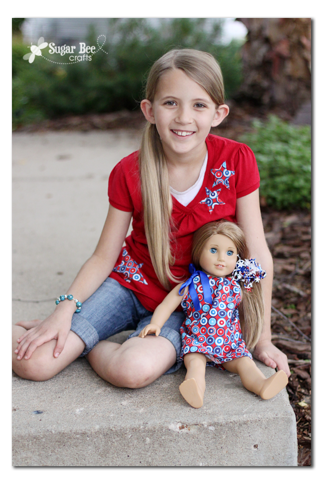 How to Make a Doll Pillowcase Dress by SugarBee Crafts