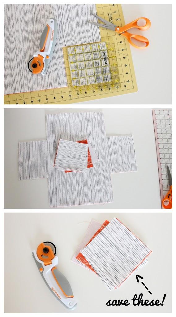DIY Fabric Baskets by Delia Creates