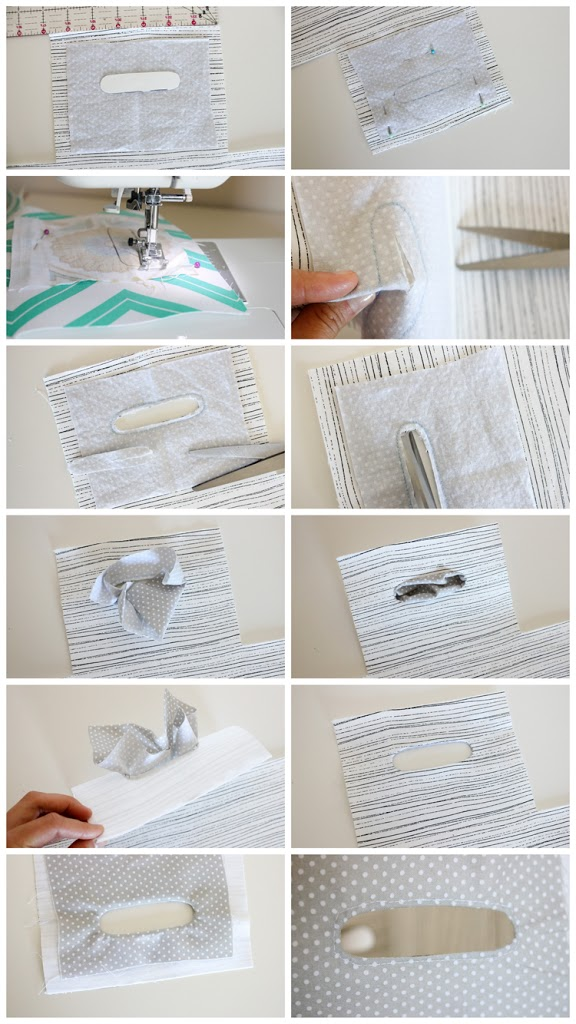 Reversible Fabric Basket Tutorial by Delia Creates