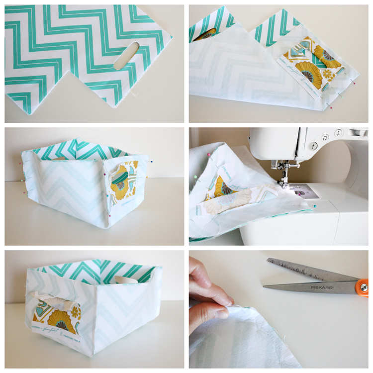 How to Make Reversible Baskets by Delia Creates