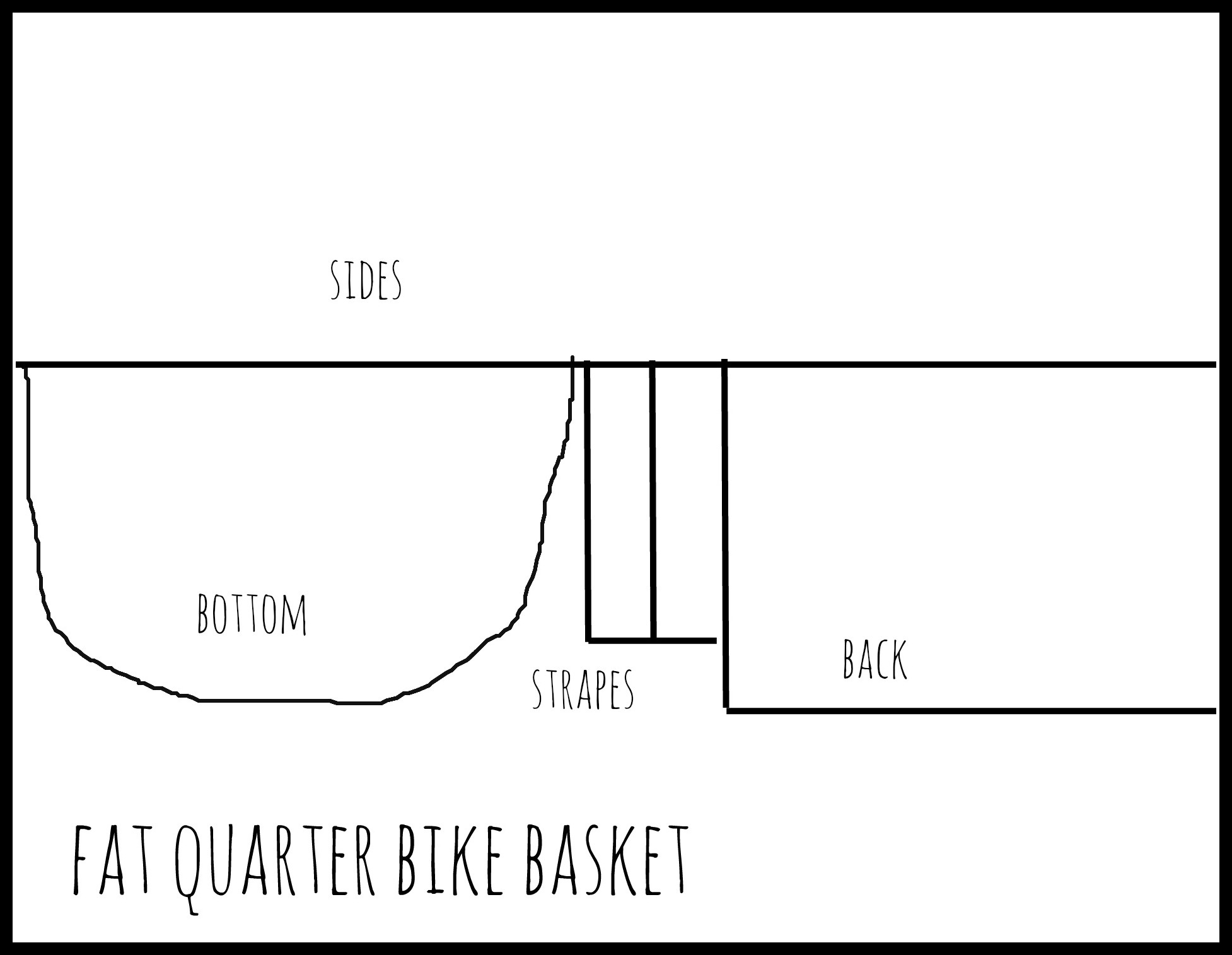 fat quarter bike basket
