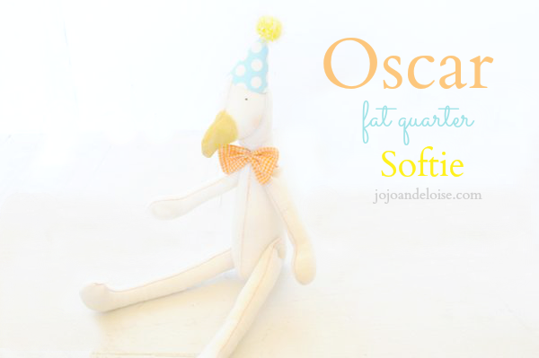 Fat Quarter Softie Tutorial by JoJo and Eloise