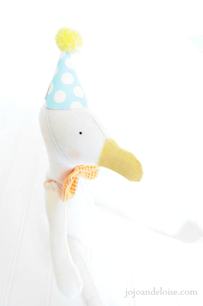 How to Make a Fat Quarter Softie Doll by JoJo and Eloise
