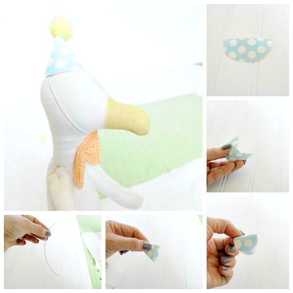 how-to-make-a-miniature-doll-party-hat