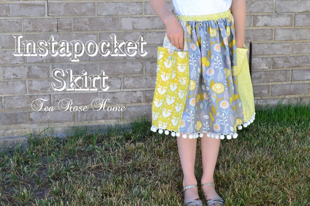 Instapocket Skirt Tutorial by Tea Rose Home