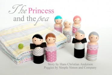DIY Princess and The Pea Set