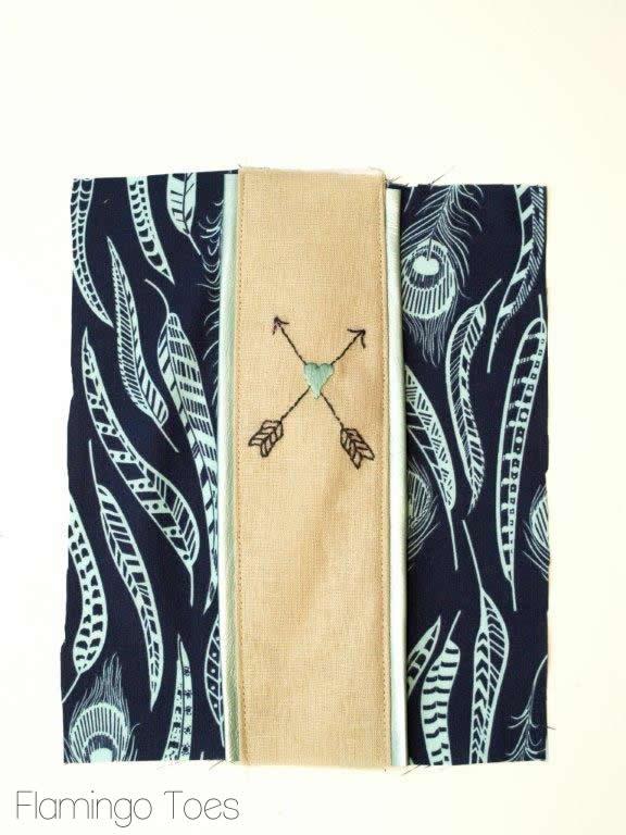 zipper pouch front