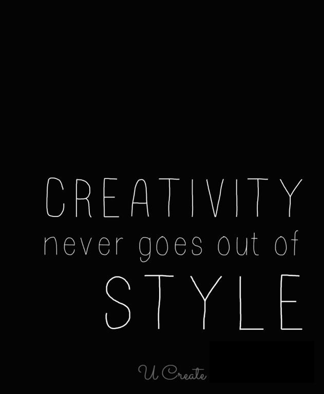 Creativity Never Goes Out of Style (free printables!)
