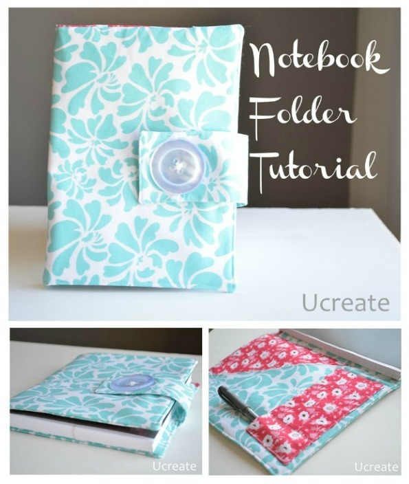 How to Make a Notebook Folder by U Create