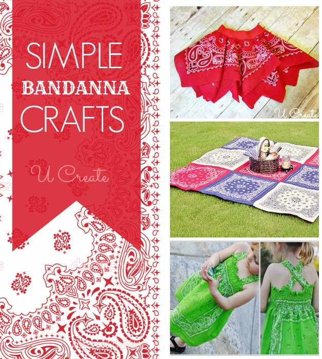 Lots of simple bandanna tutorials at U Create!