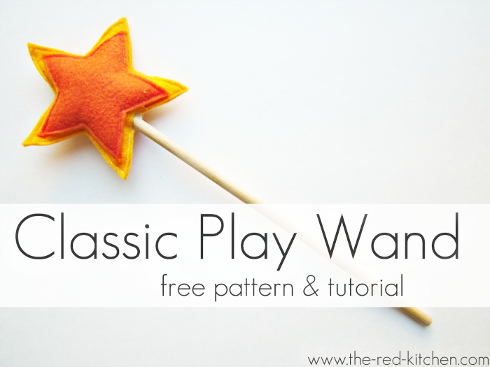 Star Wand Tutorial by The Red Kitchen