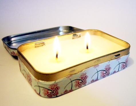 Emergency Candle Tutorial at Design Sponge