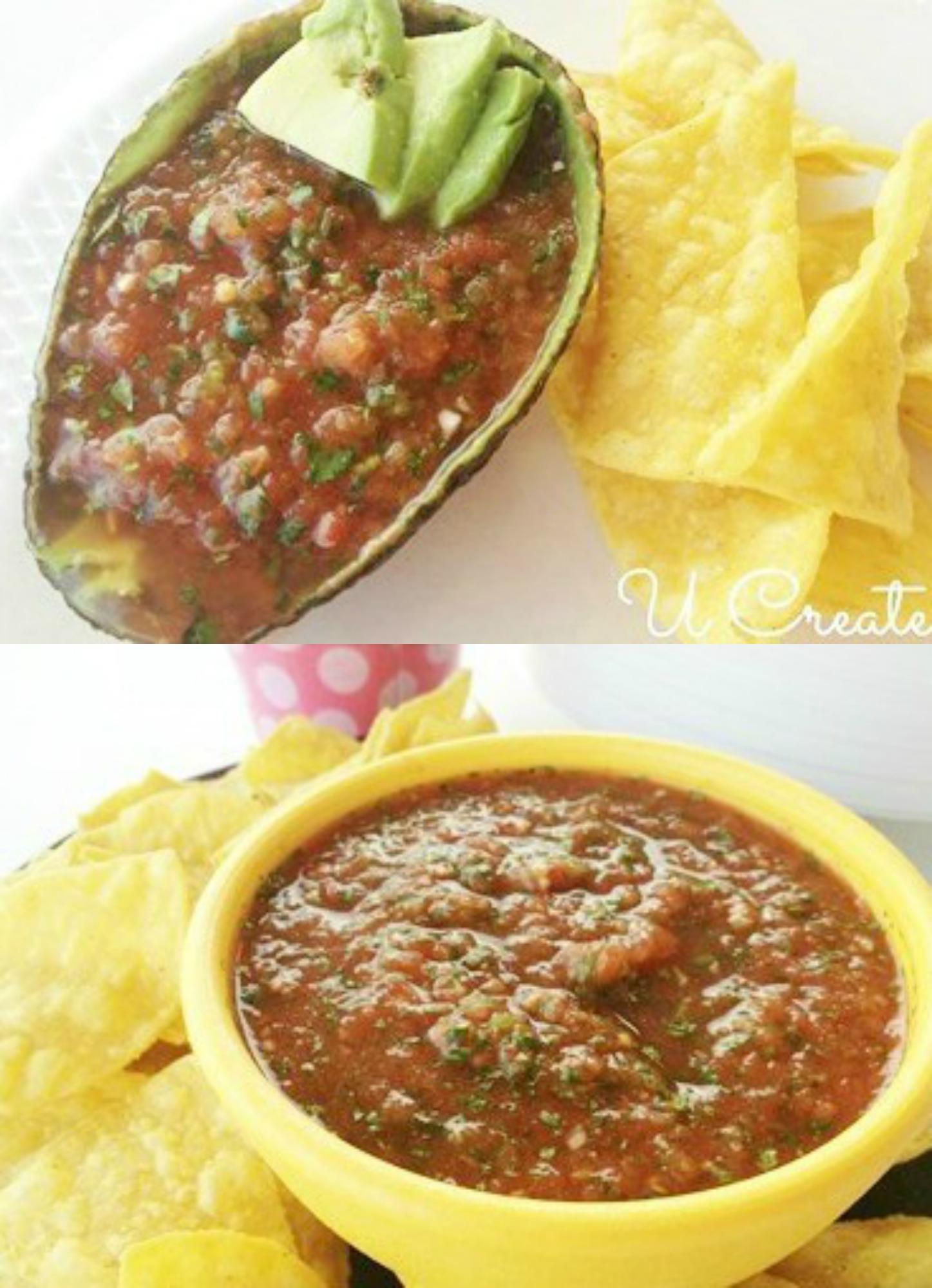 Favorite Easy Salsa Recipe - even the kids love it!