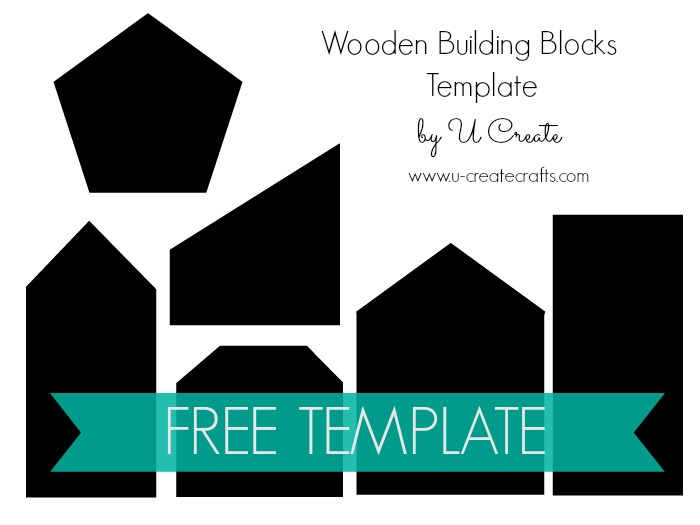 Wooden Building Block Set -Free Template