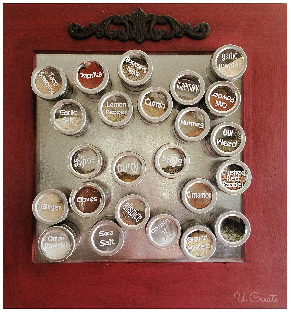 How to Make a Magnet Spice Board by U Create
