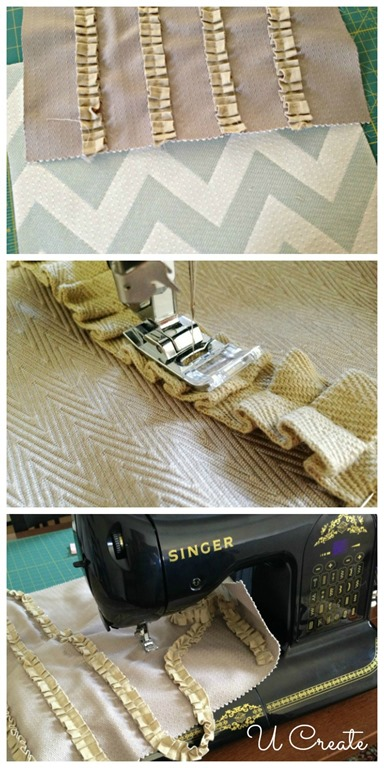 How to Sew a Two-Sided Throw Pillow by U Create