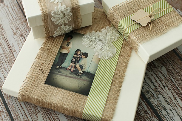 Burlap Packaging with The Savvy Photographer