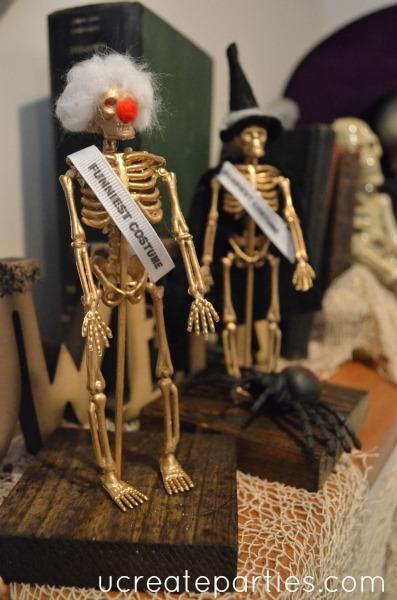 DIY Halloween Party Awards Funniest
