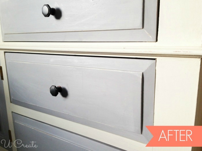 After   dresser using chalk paint. How To Use Chalk Paint   Dresser Makeover   U Create