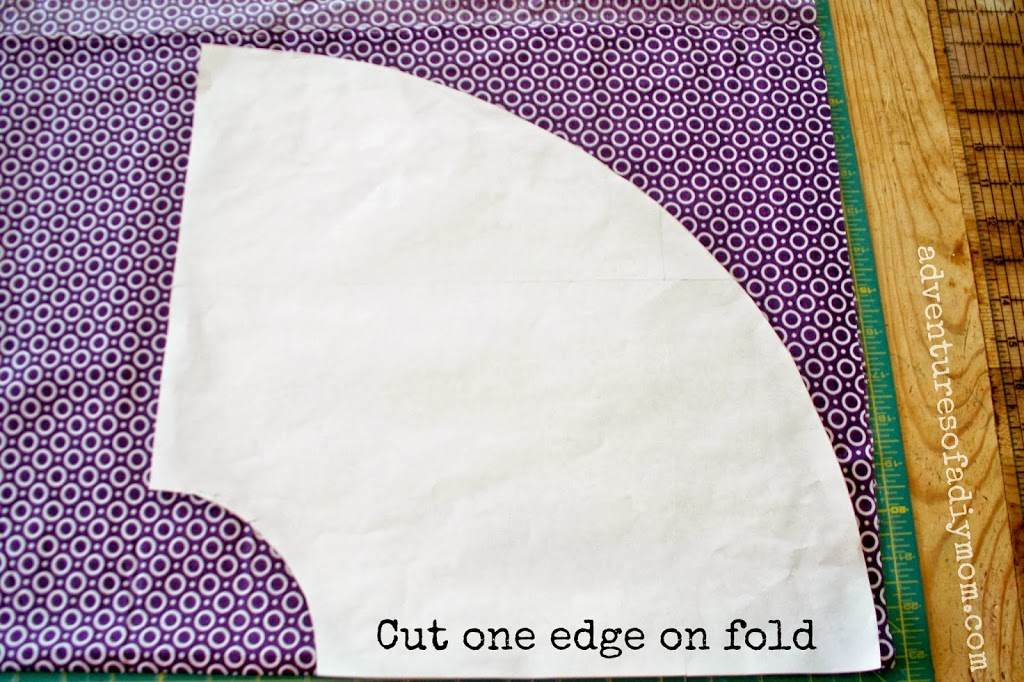 Circle Wrap-Around Ruffle Skirt Tutorial - U Create